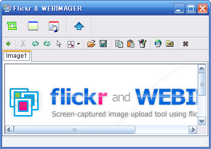 flickr and webimager application