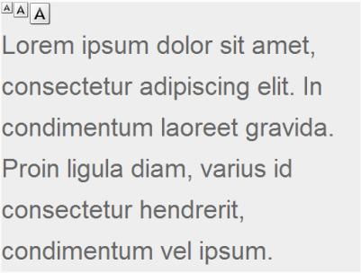 文字の拡大・縮小 jQuery プラグイン fig.2