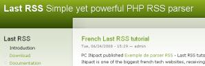PHPのRSSパーサライブラリ.1