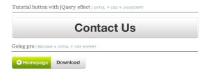 jQueryによってカスタマイズされたCSSボタン fig.1