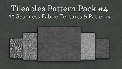 背景に使えるクールな20のファブリックテキスチャ集「Tileables」