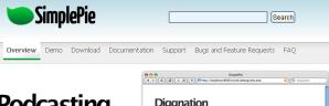 PHPのRSSパーサライブラリ.2
