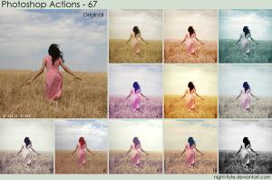 写真加工に活用できるPhotoshopアクション fig.5