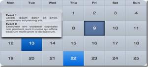 jQueryのカレンダー関連のプラグイン fig.2
