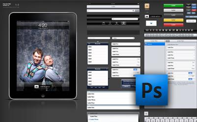 iPadのPhotoshopデータ