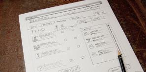 WEBデザインのモック作成時に役立つ手書き用PDFテンプレート fig.1