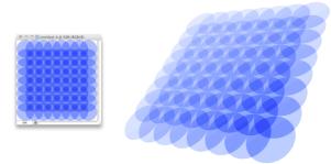 透明度、ブレンドモードを使って背景画像に使えそうなパターン画像を作成するPhotoshopチュートリアル fig.1
