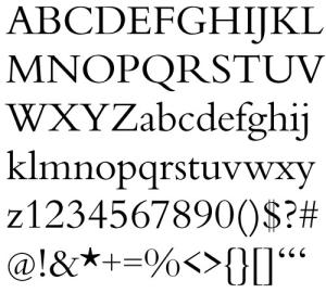 汎用に使えそうなプロフェッショナル英文フォント fig.1
