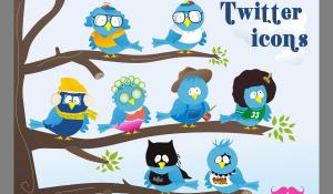 ユニークでフレッシュなTwitterアイコン fig.2