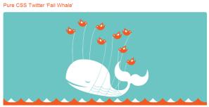 ピュアCSSでTwitterのメンテナンスモードのクジラをアニメーションさせる fig.1
