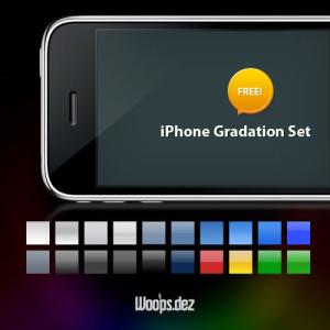 背景やボタンなど様々に使えるPhotoshopグラデーションセット fig.1