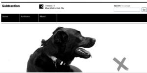 白黒のクールなサイトをデザインする際に参考になる30選 fig.4