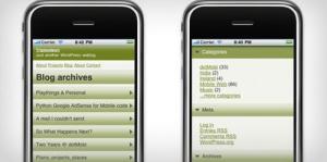 iPhone等のモバイルデバイス向けWordPressテーマ.3