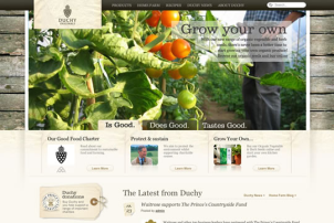 自然をうまく取り入れたサイトデザイン fig.3