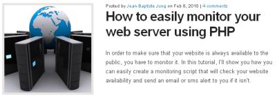 PHPで作るお手軽監視スクリプトのサンプル fig.1