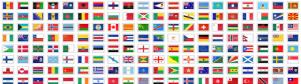 色々なデザインの国旗アイコン fig.3